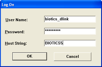 Configuring your connection to Biotics 5